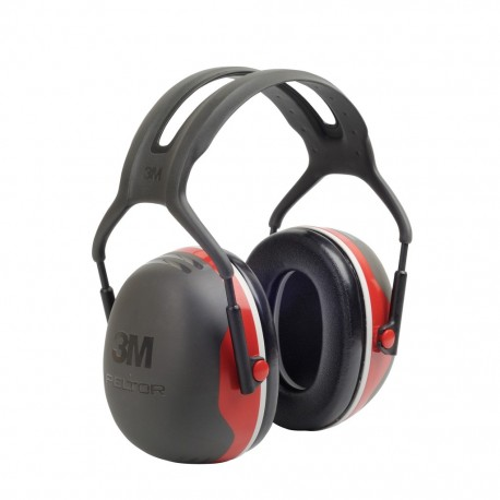 Casque anti bruit X3 Rouge