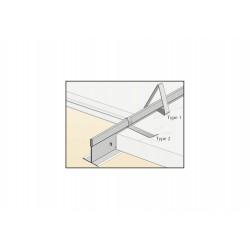 Clip de maintien Type 1 plafond