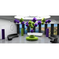 Mini obel sound (cube suspendu)                               600 x 600 x 600